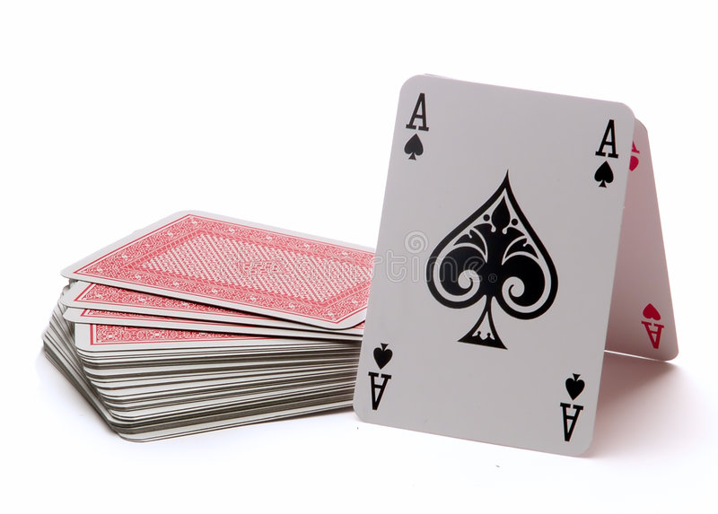 Deck And aces stock photos