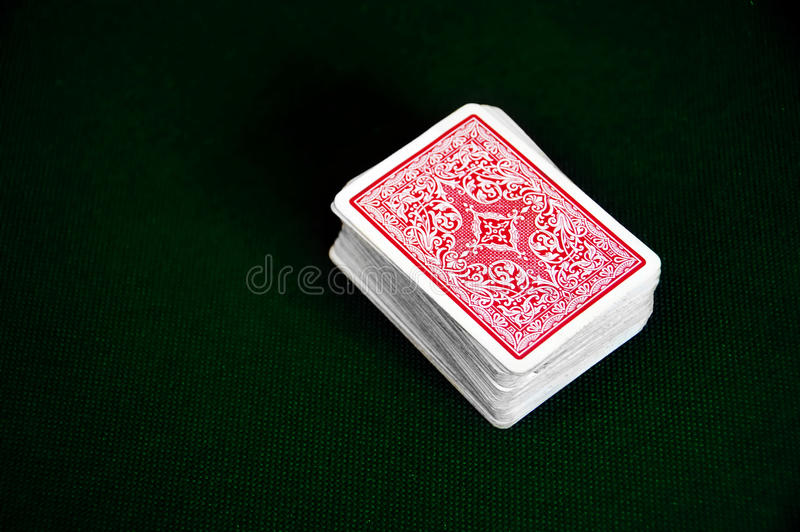 Deck of cards royalty free stock photos