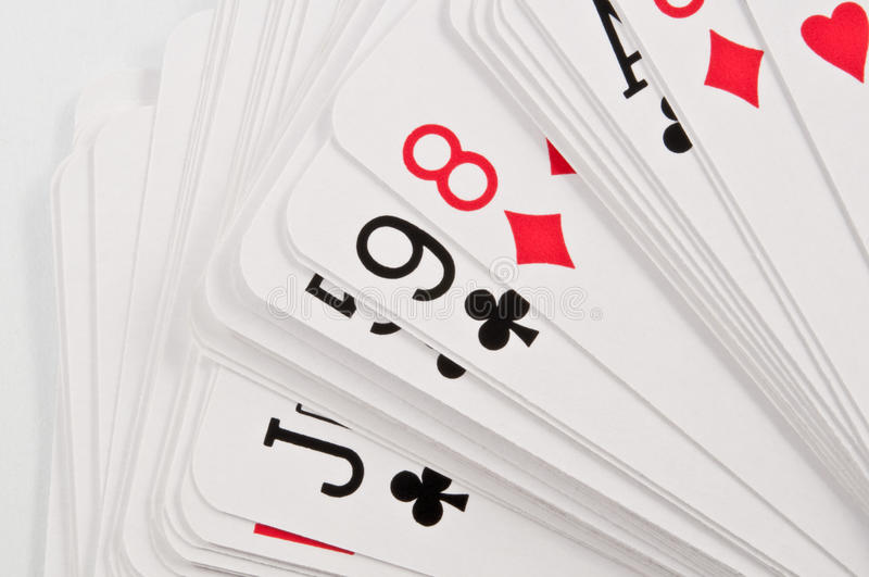 Download Deck of cards stock image. Image of clubs, cards, winning - 13073077
