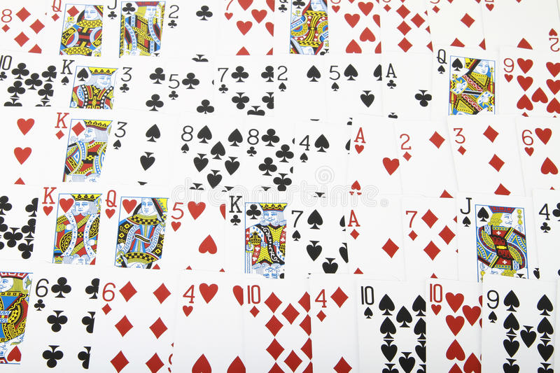 Download Deck of cards stock image. Image of number, games, shadow - 21428569