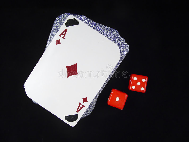 Download Deck of Cards and Dice stock photo. Image of gaming, deck - 8064