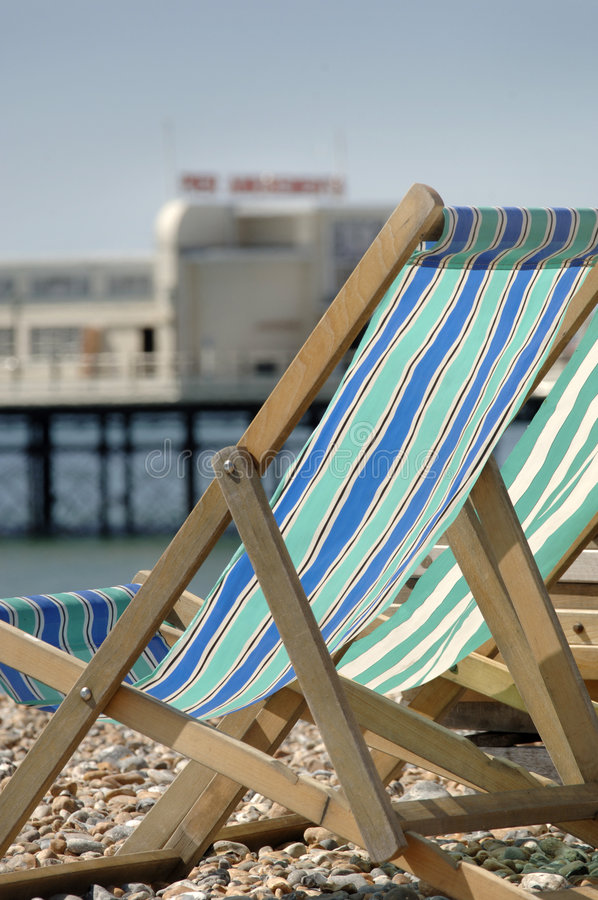 Download Deck Chairs Stock Photo - Image: 1579150