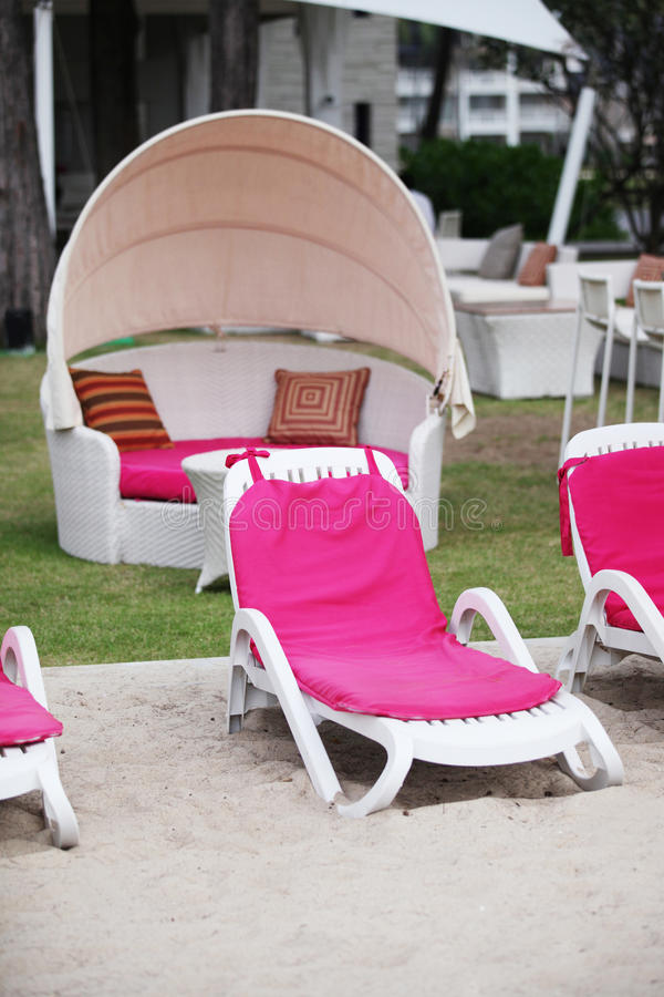 Download Deck chairs stock image. Image of exterior, furniture - 28854751