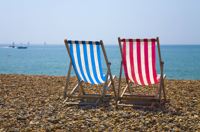 Download Deck Chairs stock image. Image of sussex, lounge, front - 3065237