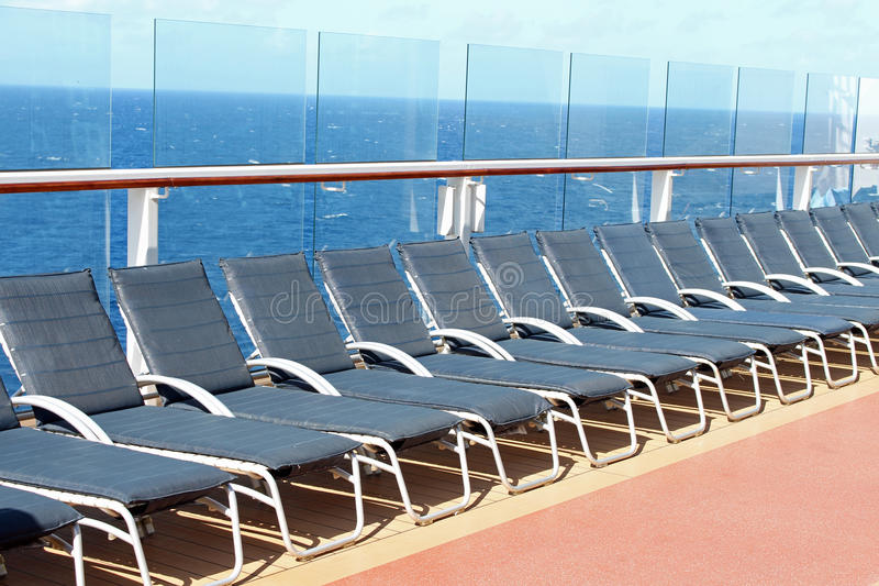 Deck Chairs 2 royalty free stock image