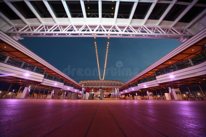 Download Deck Of Costa Deliziosa - The Newest Costa Cruise Editorial Image - Image: 17515040