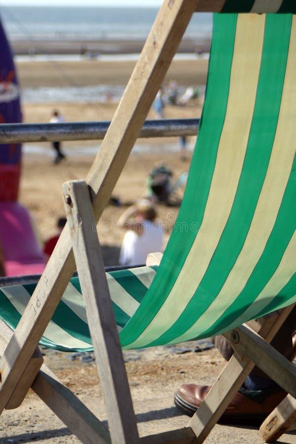 deck krzesło obraz stock