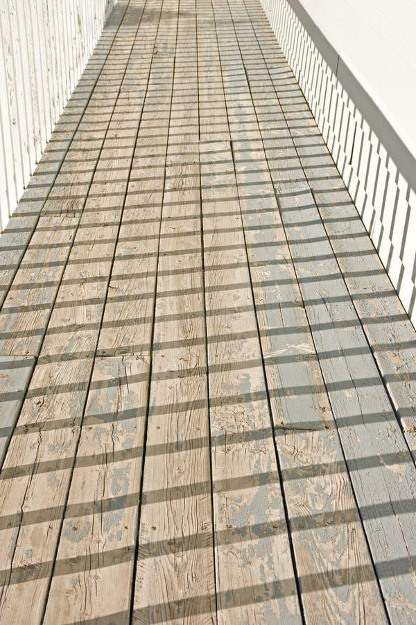 Download Deck Patterns stock photo. Image of wood, sunlit, baluster - 12931570