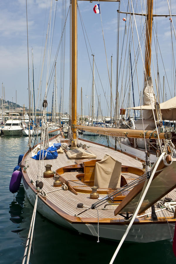 Download Deck Of Sailboat Stock Images - Image: 10675664