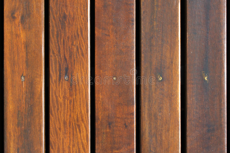 Deck wood. Background top view stock photography