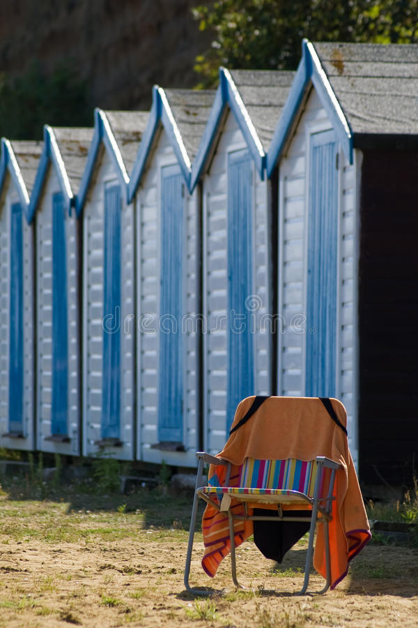 Download Deckchair stock photo. Image of empty, huts, seating - 10881524