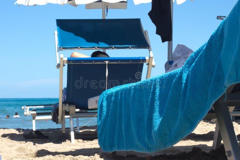 deckchair стоковые изображения rf