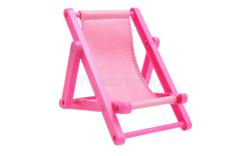 Deckchair miniatura immagine stock
