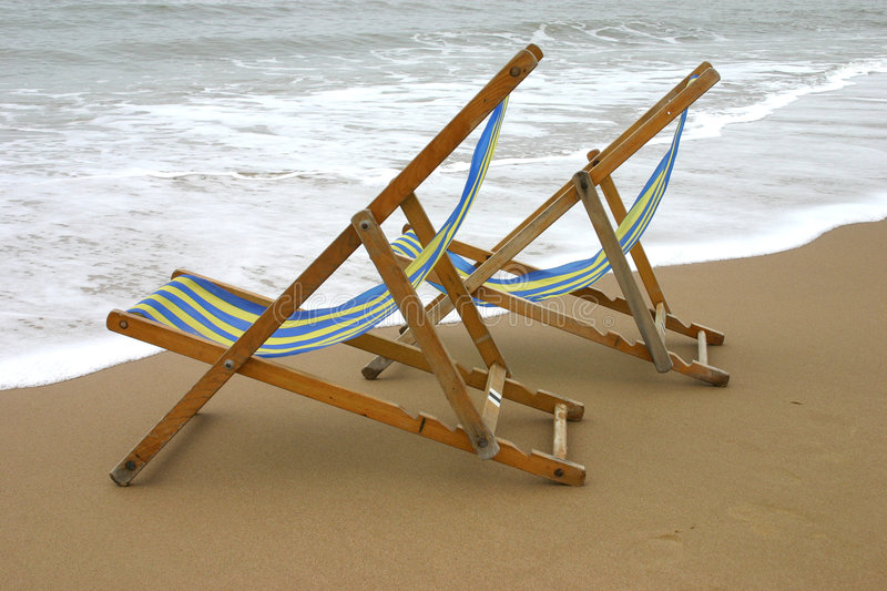 Download Deckchairs stock image. Image of chair, stripe, holiday - 114291
