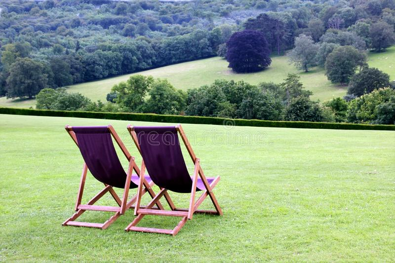 Download Deckchairs stock photo. Image of outdoors, quiet, peace - 26000134
