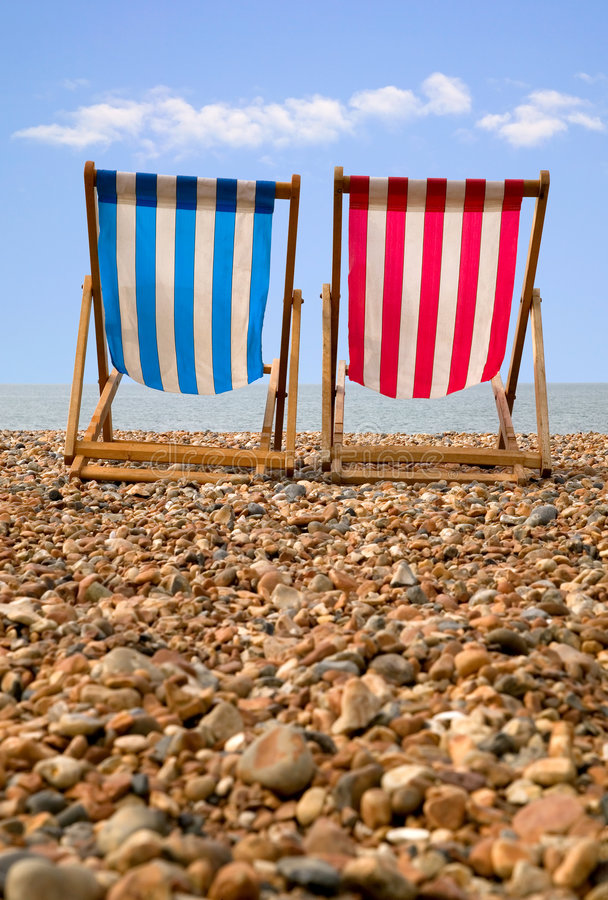 Download Deckchairs stock image. Image of deckchair, traditional - 2890881