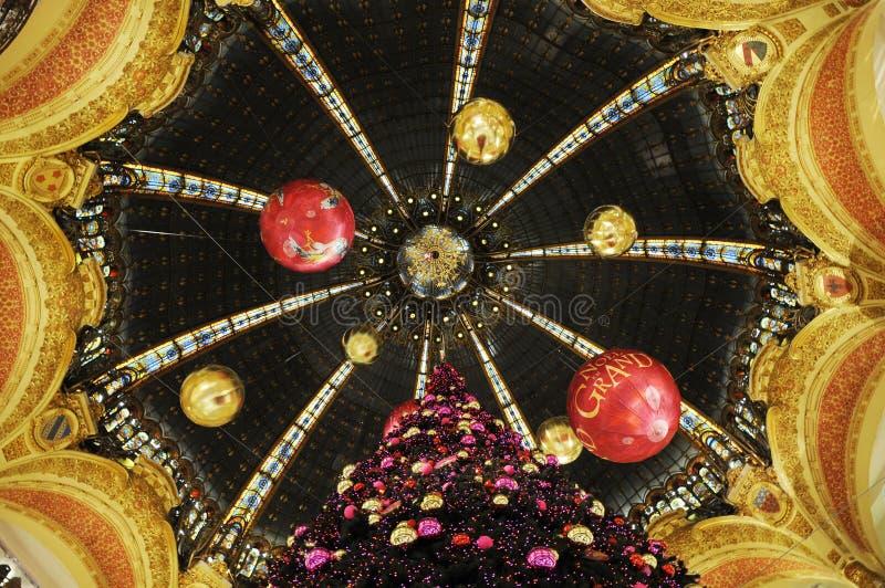 Decke mit Dekoration stockfotografie