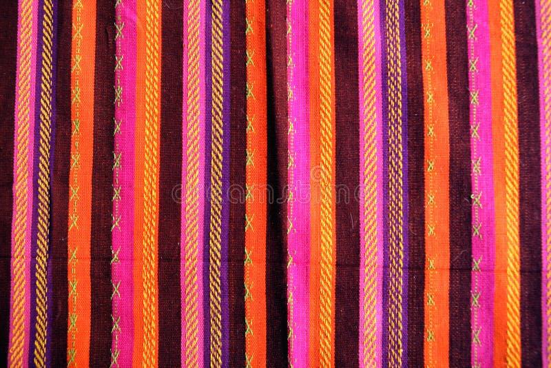Decke mit lateinischem amarican Farbenmuster lizenzfreies stockfoto