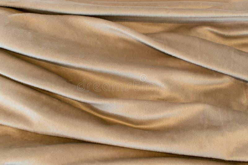 Decke vereinbart, damit horizontale Falten darstellen lizenzfreies stockbild