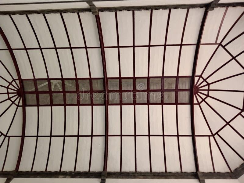 Decken-Innendach von Lawang Sewu Semarang stockfoto