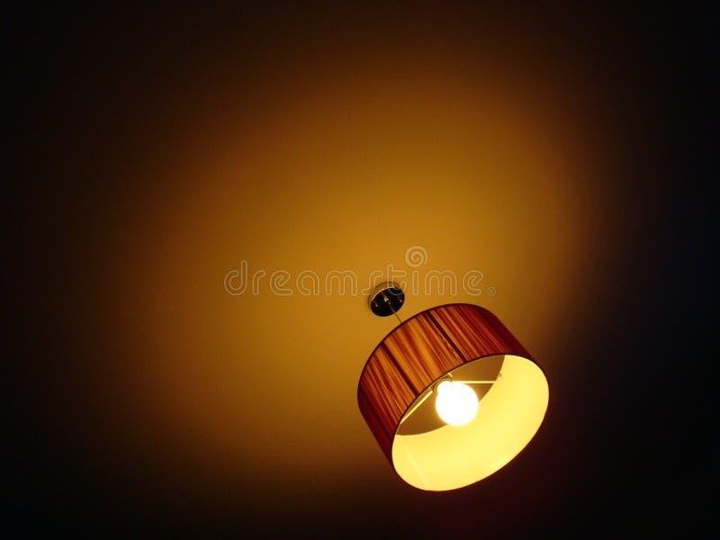 Decken-Lampe stockfotografie