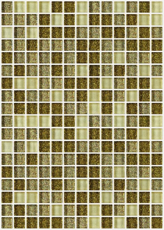 Download Decken Sie Das Mosaikquadrat Mit Ziegeln, Das Mit Goldenem Backgro Beschaffenheit Des Funkelns Verziert Wird Stockbild - Bild von küche, luxus: 47100733