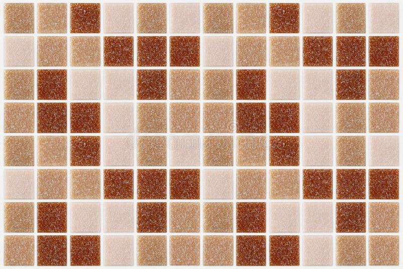 Download Decken Sie Das Mosaikquadrat Mit Ziegeln, Das Mit Rotem Rosa Backg Beschaffenheit Des Funkelns Verziert Wird Stockbild - Bild von material, geometrie: 47100991