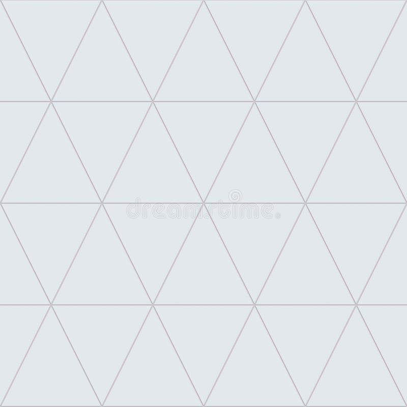 Decken Sie Dreieck-nahtlose Beschaffenheit/Hintergrund/Material mit Ziegeln stock abbildung