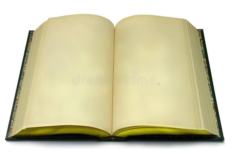 Decken Sie geöffnetes Buch ab stockbilder