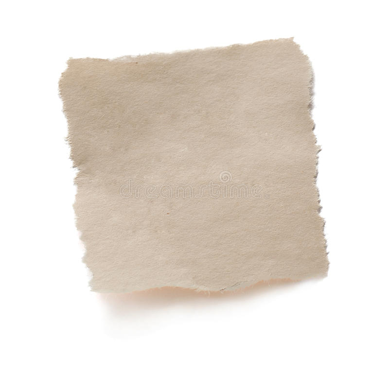 Decken Sie heftiges altes Papier ab stockbilder