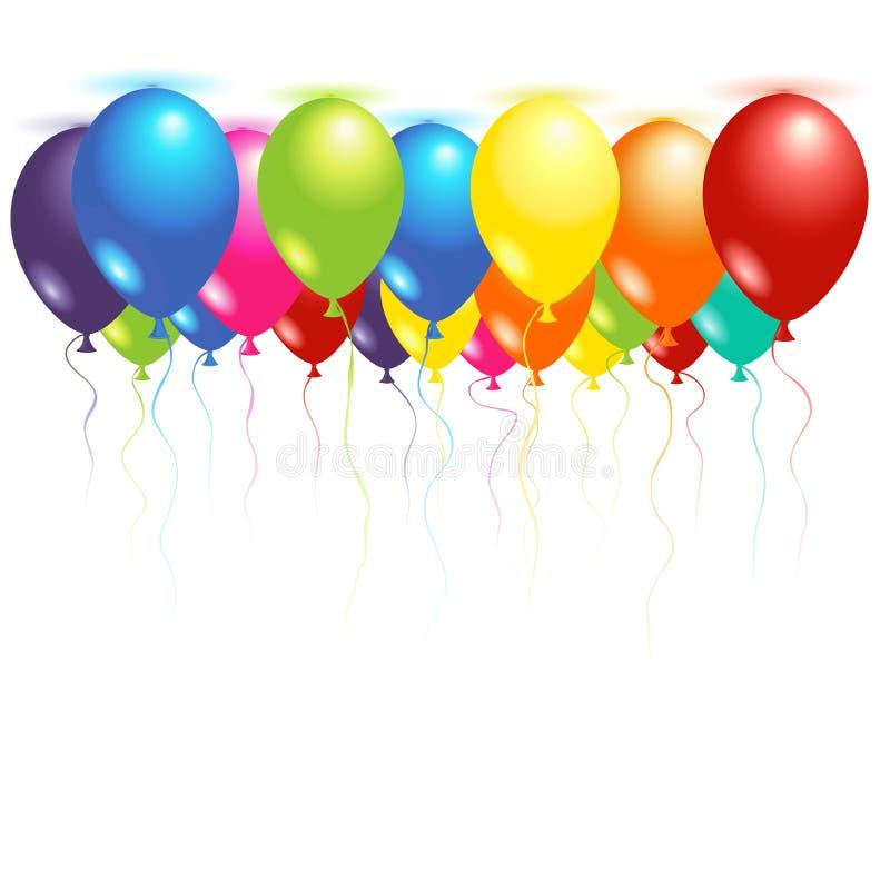Deckenballone stock abbildung