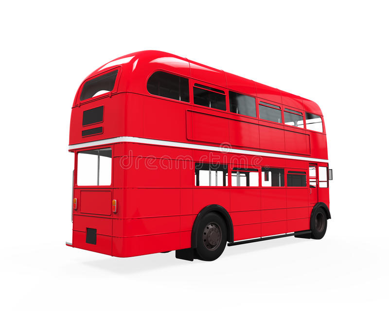 Decker Bus doble libre illustration