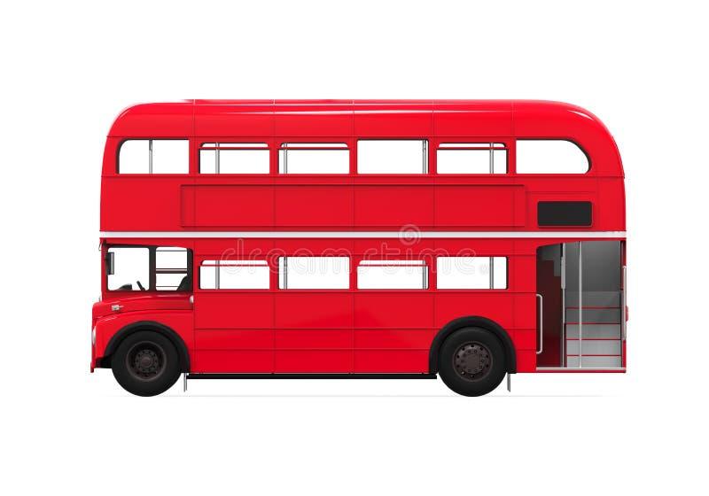 Decker Bus doble stock de ilustración