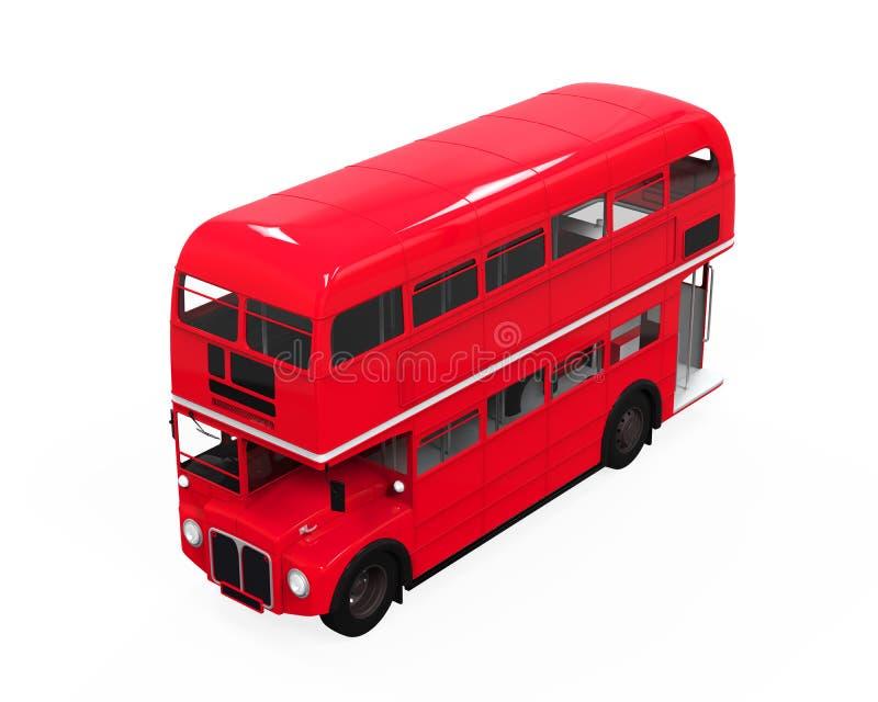 Decker Bus doble ilustración del vector