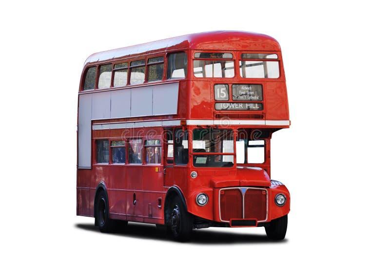 Decker dwoisty autobus obrazy stock