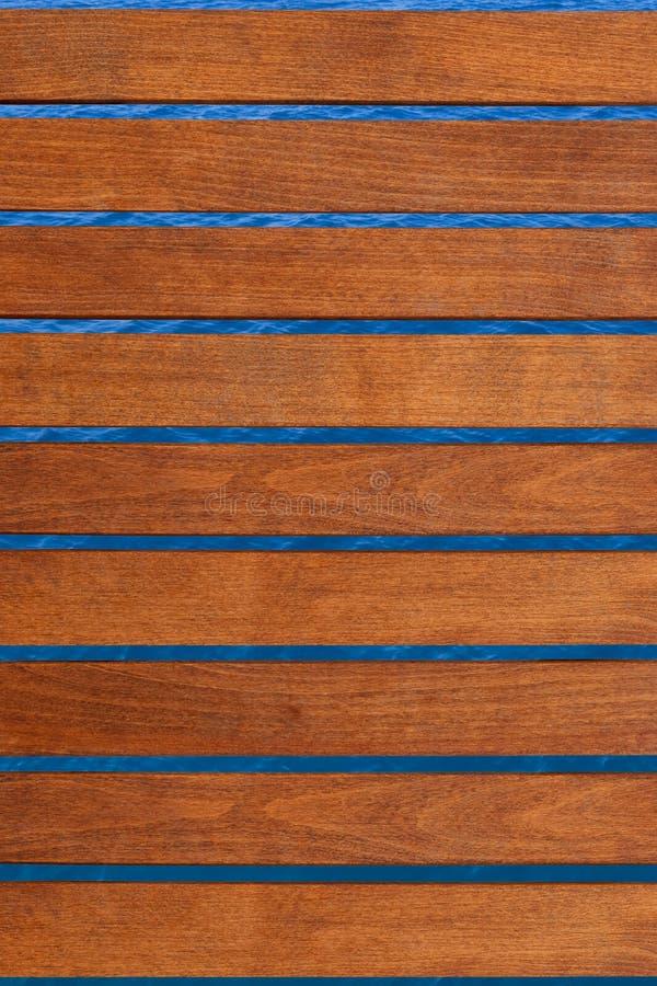 Decking de madera imagen de archivo libre de regalías