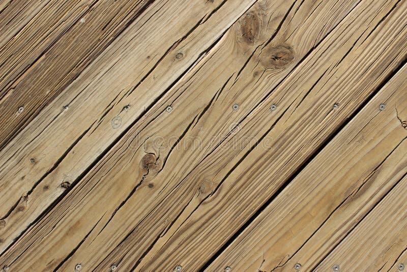 Decking di legno immagini stock libere da diritti