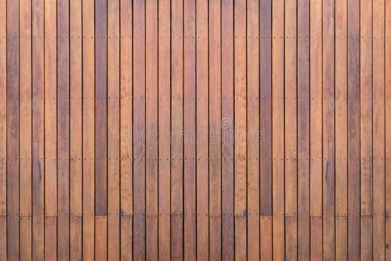 Decking o suelo de madera exterior en la terraza fotografía de archivo