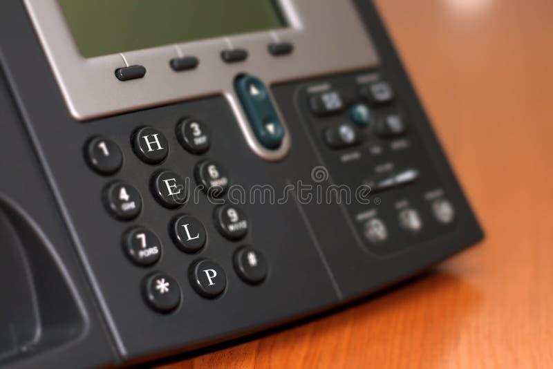 Deckungslinie Telefon lizenzfreie stockbilder