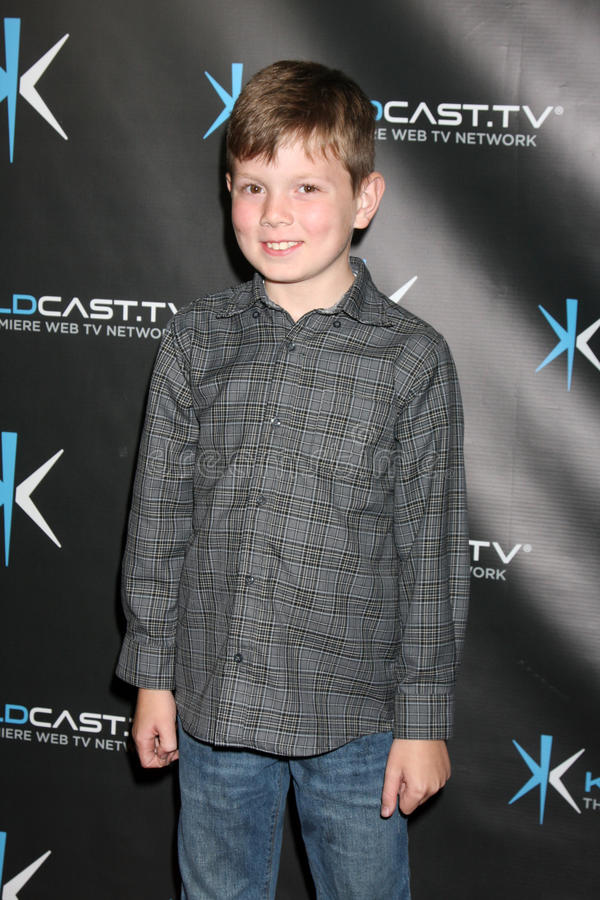 Declan Beaty attends the. LOS ANGELES - DEC 14: Declan Beaty attends the 'Miss Behave' Season Two Premiere Party at Flappers Comedy Club on December 14, 2010 in royalty free stock photography