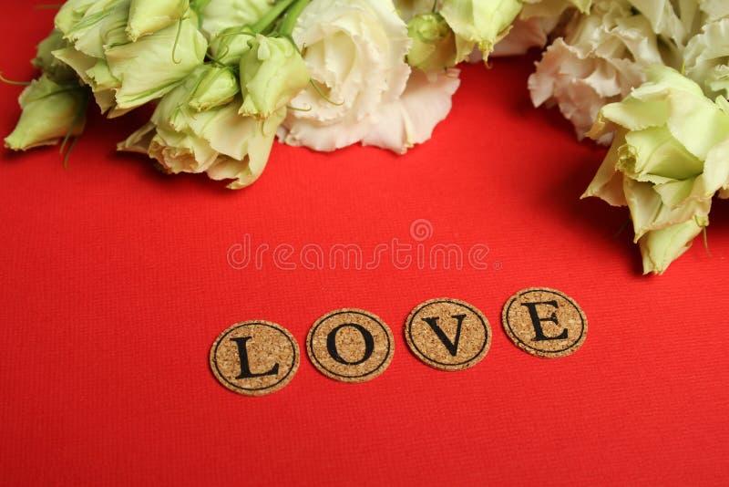 Declaração do amor imagens de stock royalty free