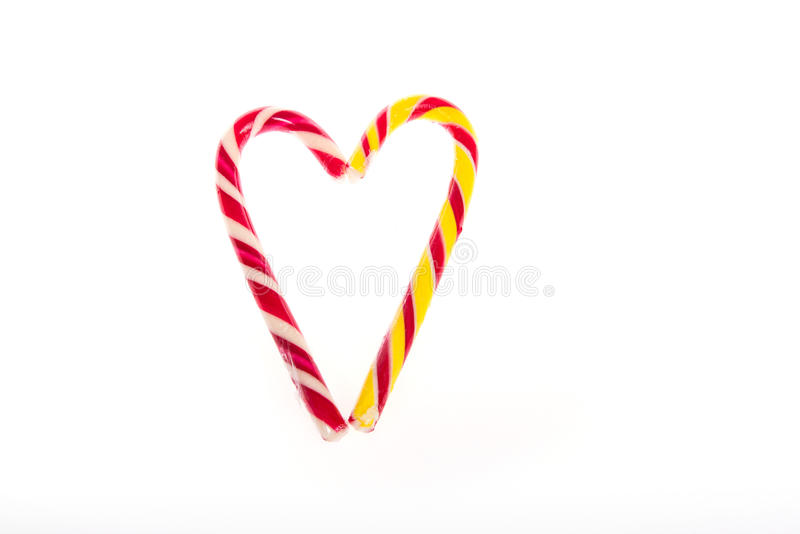 Declaration of love in the form of candy hearts for Valentine`s Day.  stock images