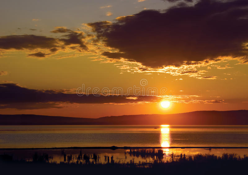 Download Decline On Lake Arahlej Royalty Free Stock Photo - Image: 12007315