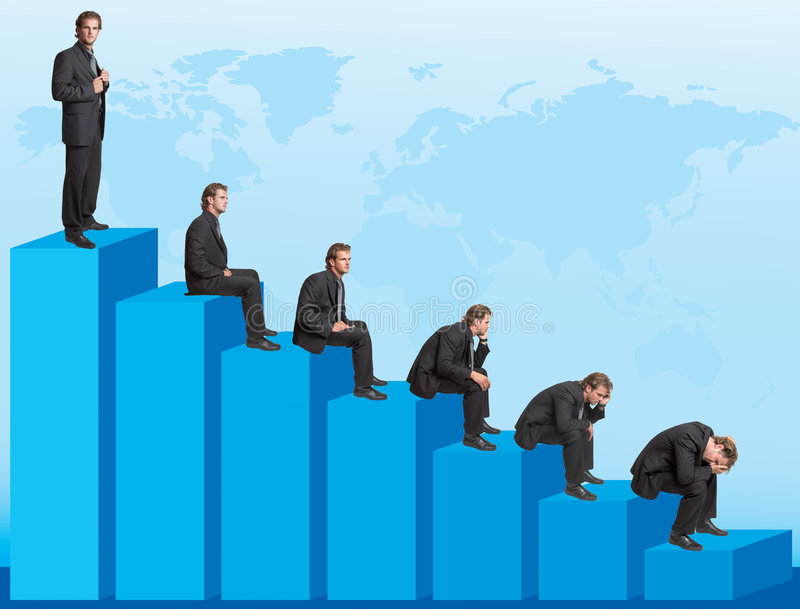 Download Declining Chart Royalty Free Stock Photos - Image: 1372688