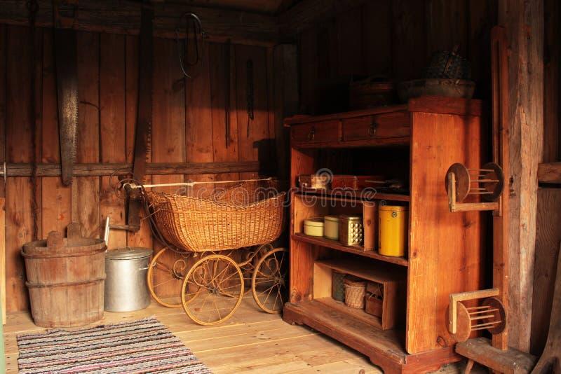 Deco antigo da casa imagens de stock royalty free