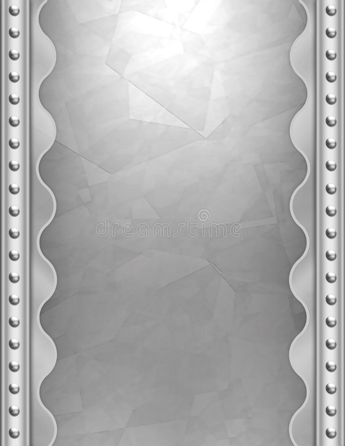 deco de fond d'art métallique illustration de vecteur