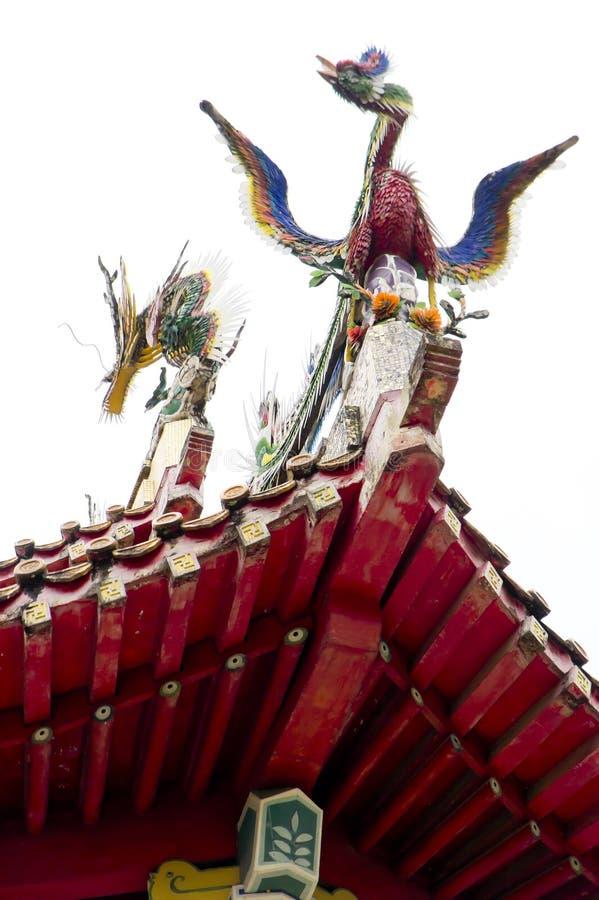 Deco del templo budista fotos de archivo libres de regalías