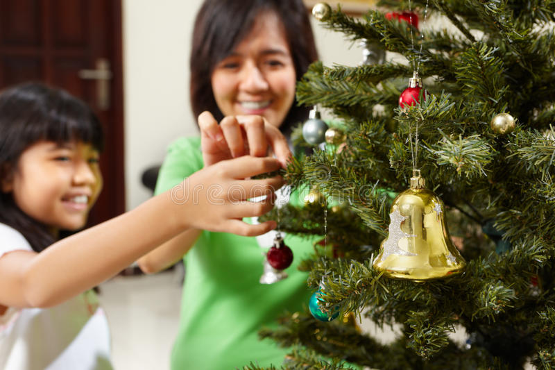 Download Decoarting Christmas tree stock photo. Image of seasonal - 16386156