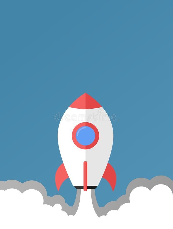 Decolli la racchetta - progettazione/illustrazione piane immagine stock