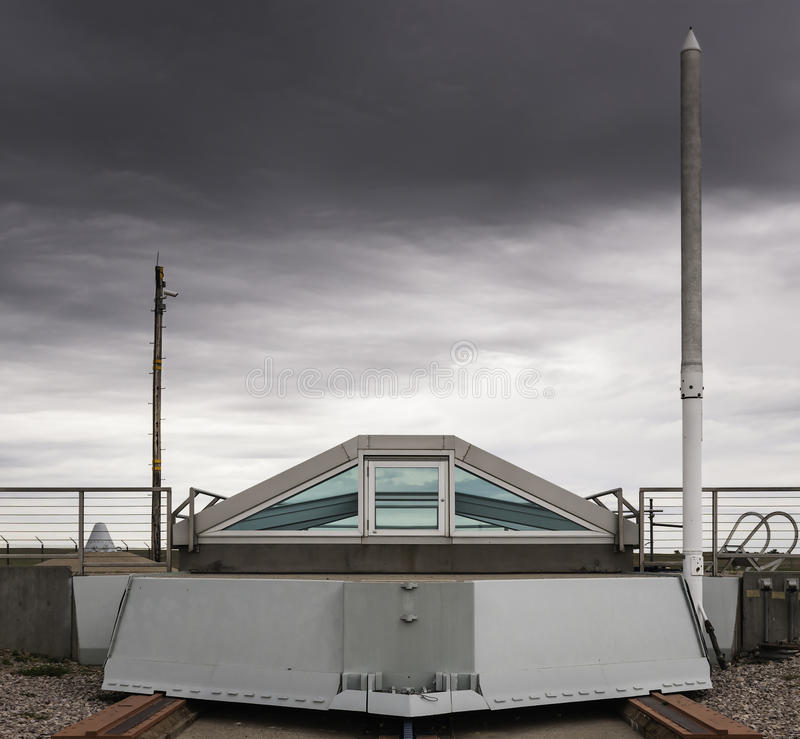 Download Decommissioned Minuteman Missile Silo Stock Image - Image: 28288465